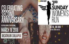 3rd Sunday Women's Run (2nd Anniversary)