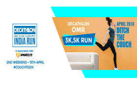 Decathlon India Run - OMR
