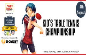 HSC Kids Table Tennis Championship