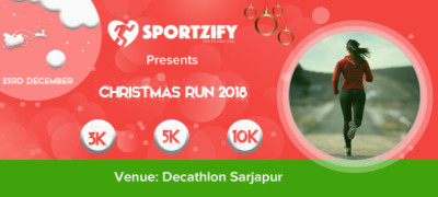 Christmas Run 2018 (Sarjapur)