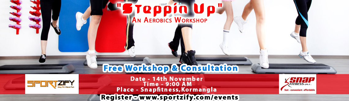 Steppin Up - An Aerobics Workshop