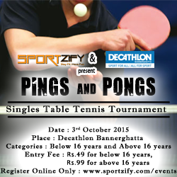 Pings Pongs - Table Tennis Tournament