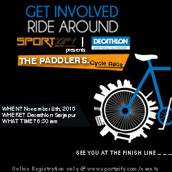 The Paddlers - Cycle Race