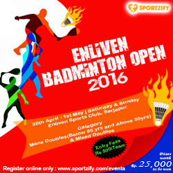 Enliven Badminton Open 2016