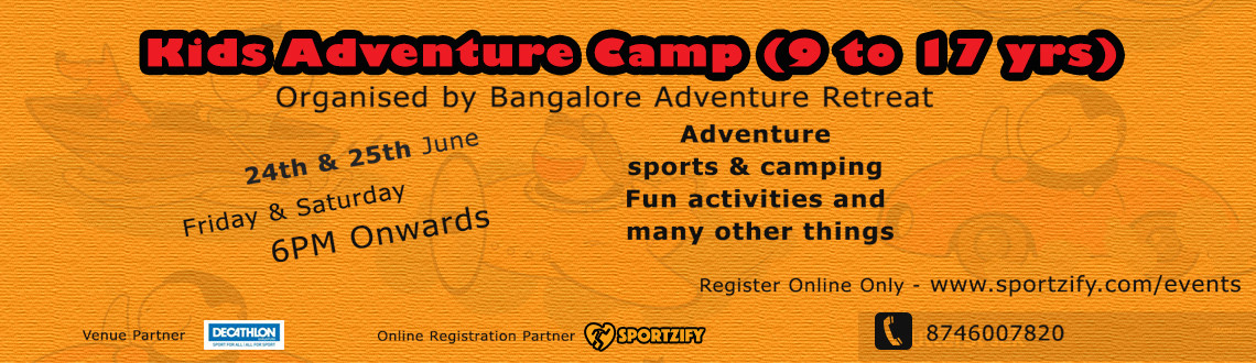 Kids Adventure Camp 2016