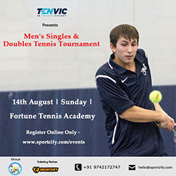 Tenvic Presents Adults Tennis Tournament