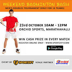Weekend Badminton Bash: October