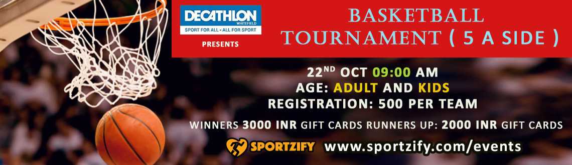Basketball Tournament - Adults
