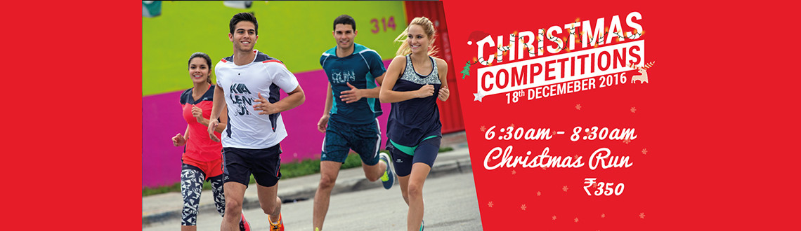 Xmas 10K Run - Decathlon OMR