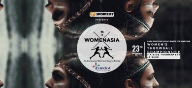 Throwball Championship - Womenasia