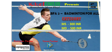 BFA2 - Badminton For All