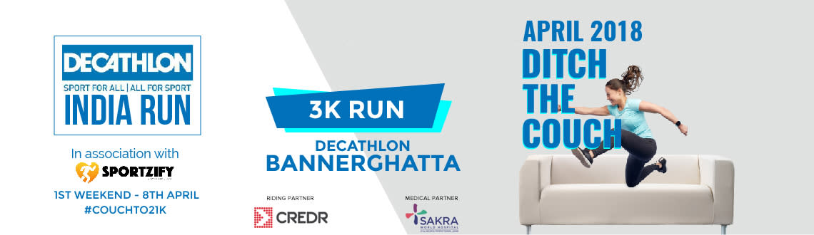 Decathlon India Run - Bannerghatta