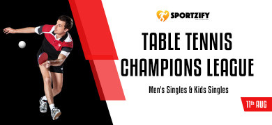 Sportzify Table Tennis Champions League