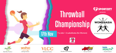 Womenasia Throwball Championship