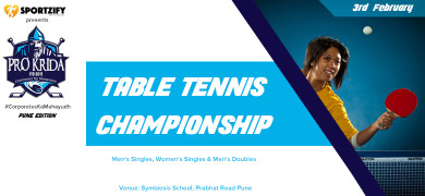 Prokrida Pune Table Tennis Championship